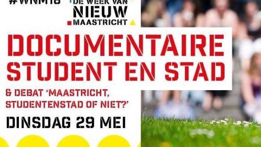 Debatcentrum Sphinx & M-lab: Maastricht studentenstad of niet?
